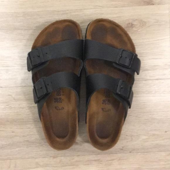 f376e118f8 Birkenstock Shoes - Birkenstock Sandals (Black)